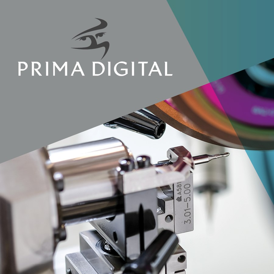 Prima Digital Marketing Brochure Cover